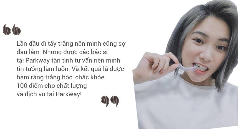 Chi Phan tẩy trắng răng nha khoa parkway
