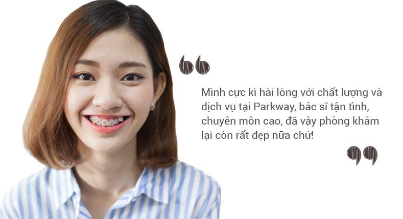 phương mai niềng răng mắc cài nha khoa parkway