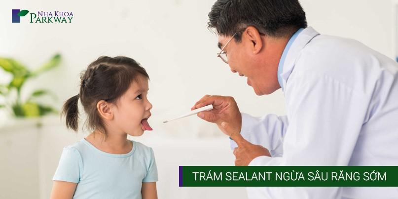Trám Sealant Ngừa Sâu Răng Sớm