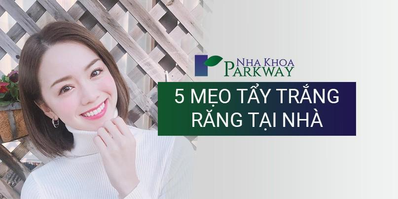 5 mẹo tẩy trắng răng tại nhà